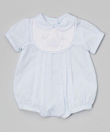 This Blue Sailboat Bubble Bodysuit - Infant is perfect! #zulilyfinds