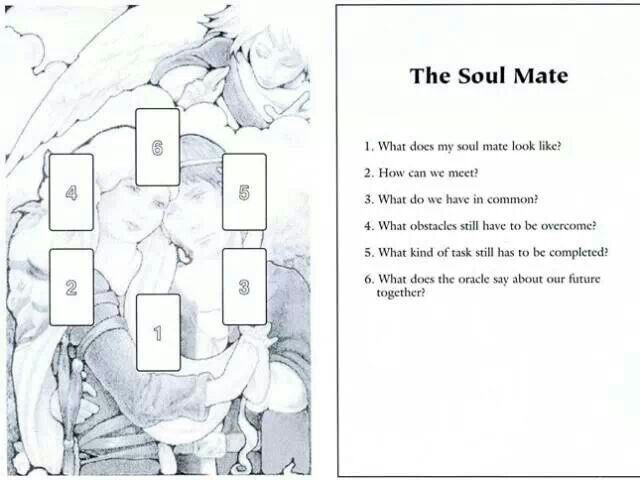 Soul mate tarot spread … | Tarot | Tarot card spreads, Tarot spreads