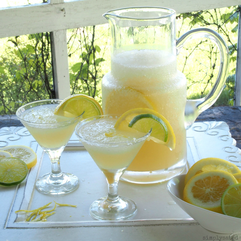 Limoncello Drinks: Limoncello Margarita - Simply Sated