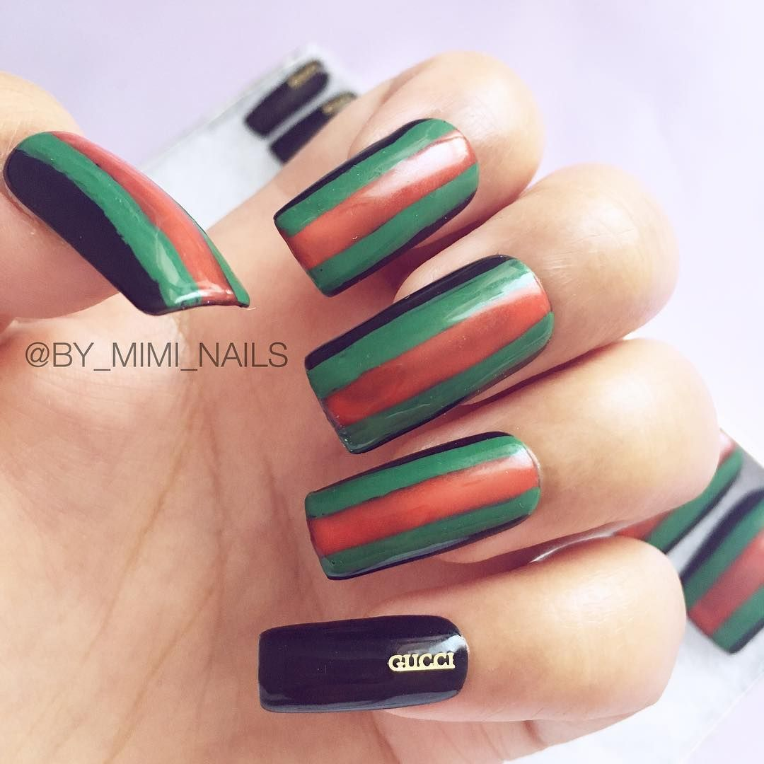 Gucci Nails $15 ready to ship set as pictured. DM for orders ...