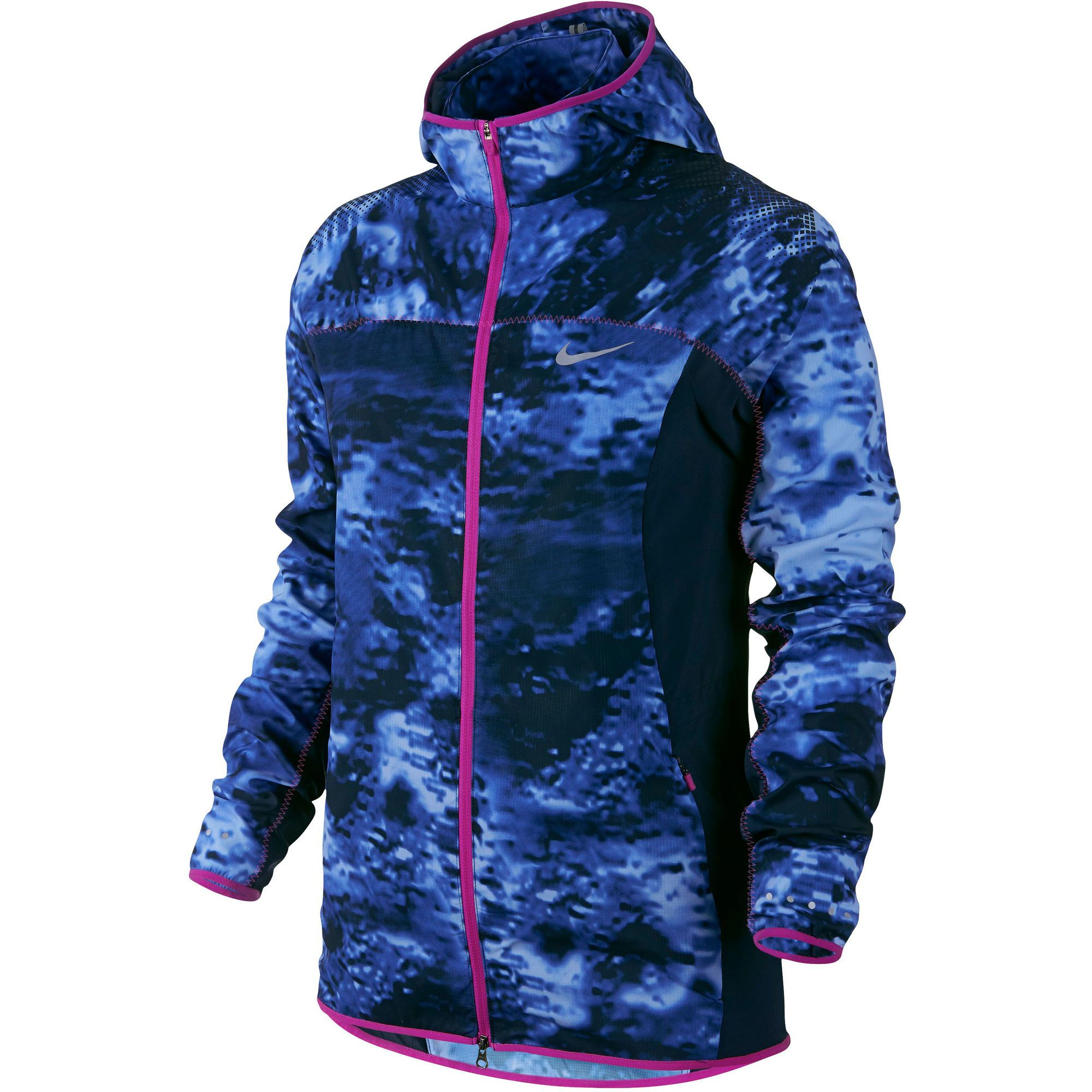Wiggle   Nike Women's Printed Trail Kiger Jacket - SP15   Running Windproof Jackets