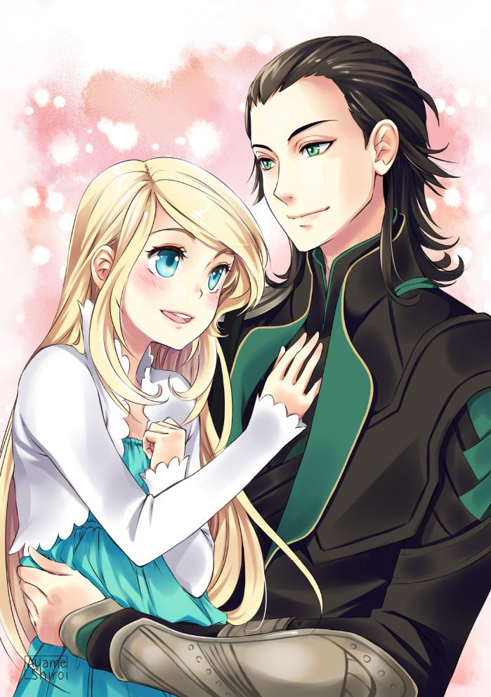 Commission for Watergoddess11 - Kaili and Loki by ...