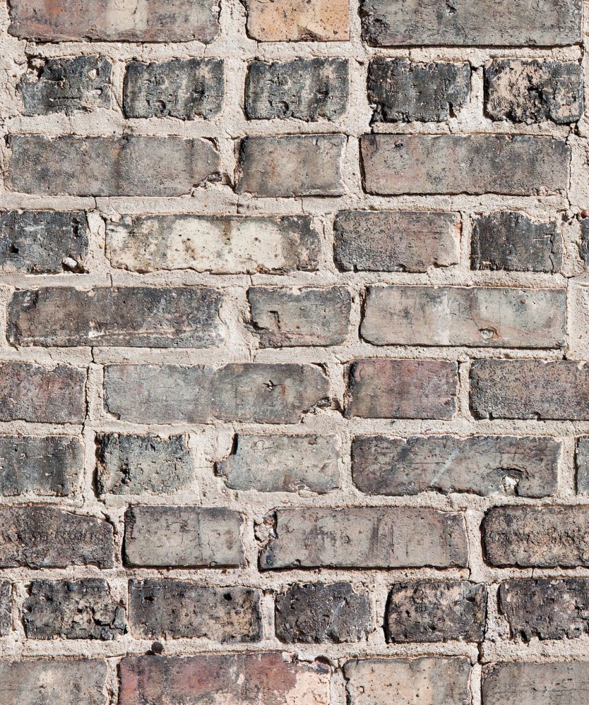 Exposed Brick Accent Wall Over Drywall: Vintage Bricks Wallpaper €� Realistic & Authentic In 2020
