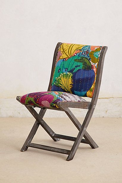 Overdyed Terai Folding Chair Folding Chair