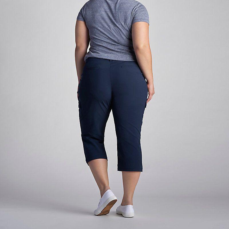 eb59600b9cfcb Lee Women s Active Performance Benson Capri Pants - Plus (Size 24W x ...