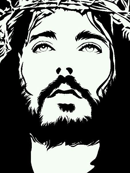Image Result For Silueta De Jesus Sorrindo Imagem Sagrada Imagens De Jesus Rosto De Cristo