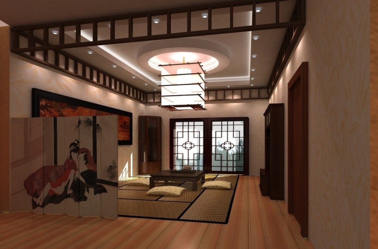 interior design styles living room - Japanese interior design, Japanese living rooms and Interiors on ...