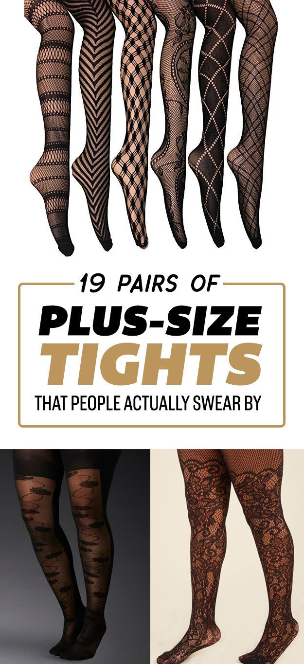 Photo of 19 Pairs Of Plus-Size Tights That People Actually Swear By
