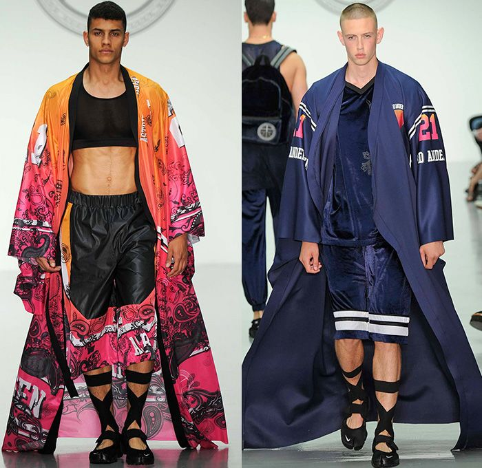 Astrid Andersen 2015 Spring Summer Mens Runway Looks - London Collections:  Men British Fashion Council
