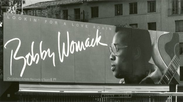Lookin' For A Love Again. Bobby Womack. From Duke Digital Collections. Collection: OAAA Archives. Shows Bobby Womack and guitar.