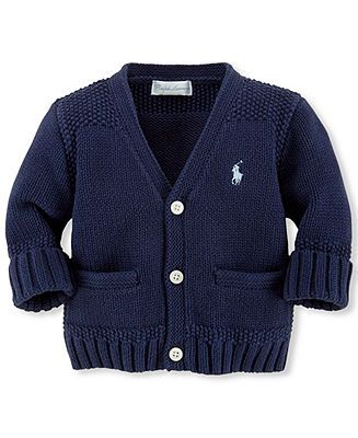 Lauren SweaterJacke Cotton Boys Ralph Baby Cardigan m0NwOvnPy8
