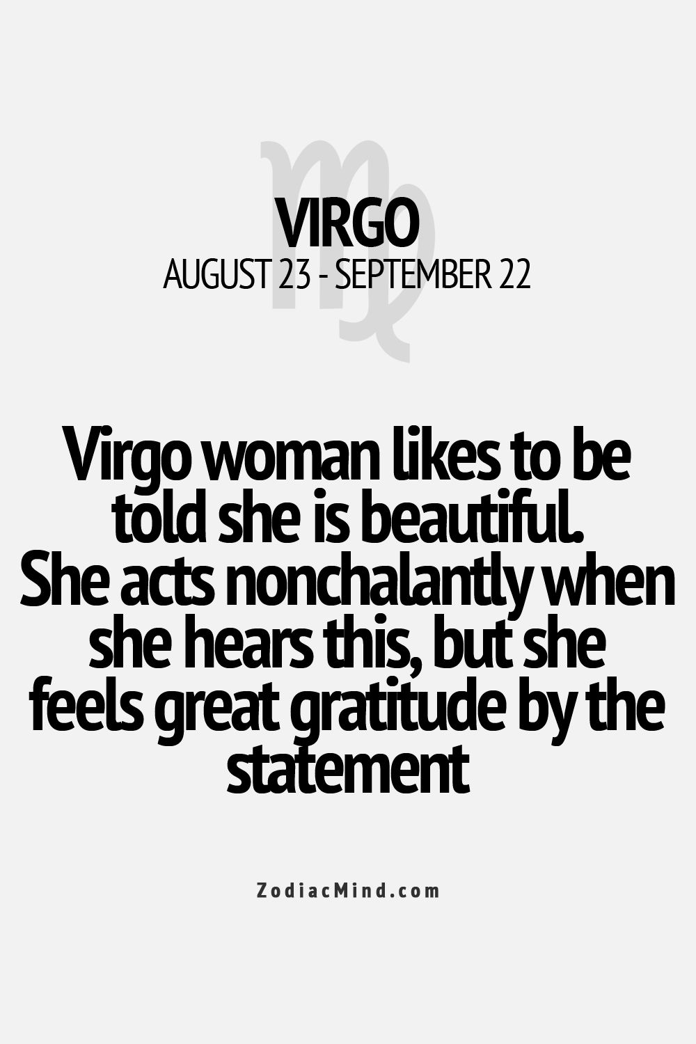 How to know if a virgo woman likes you