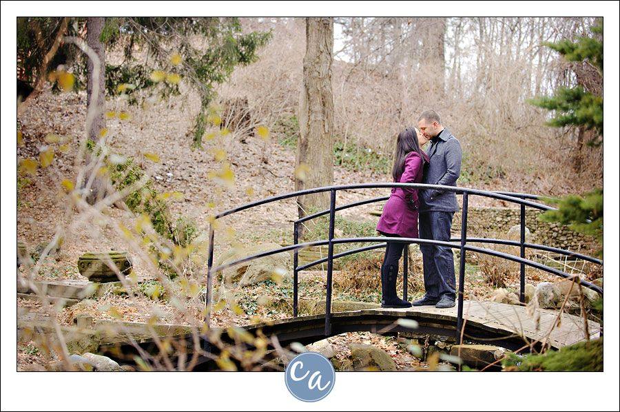 outdoor wedding ceremony sites in akron ohio%0A Winter engagement session at Canton Garden Center within McKinley Monument  Park      Mc Kinley Monument Drive Northwest Canton  OH       By Corey Ann