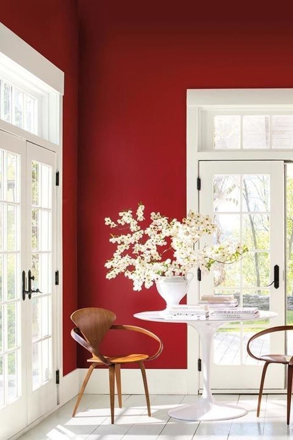 20 Astonishing Interior Designs With Red Details To Break The