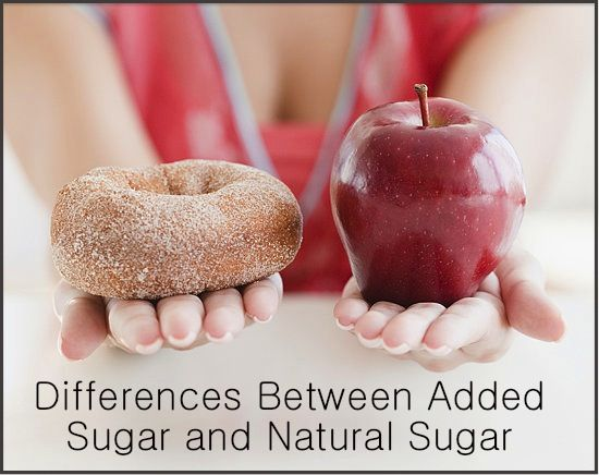 Differences Between Added Sugar and Natural Sugar - PositiveMed