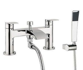Bath And Shower Mixer Taps Bathstore Designer Tec Lever Deck Mounted Main Image