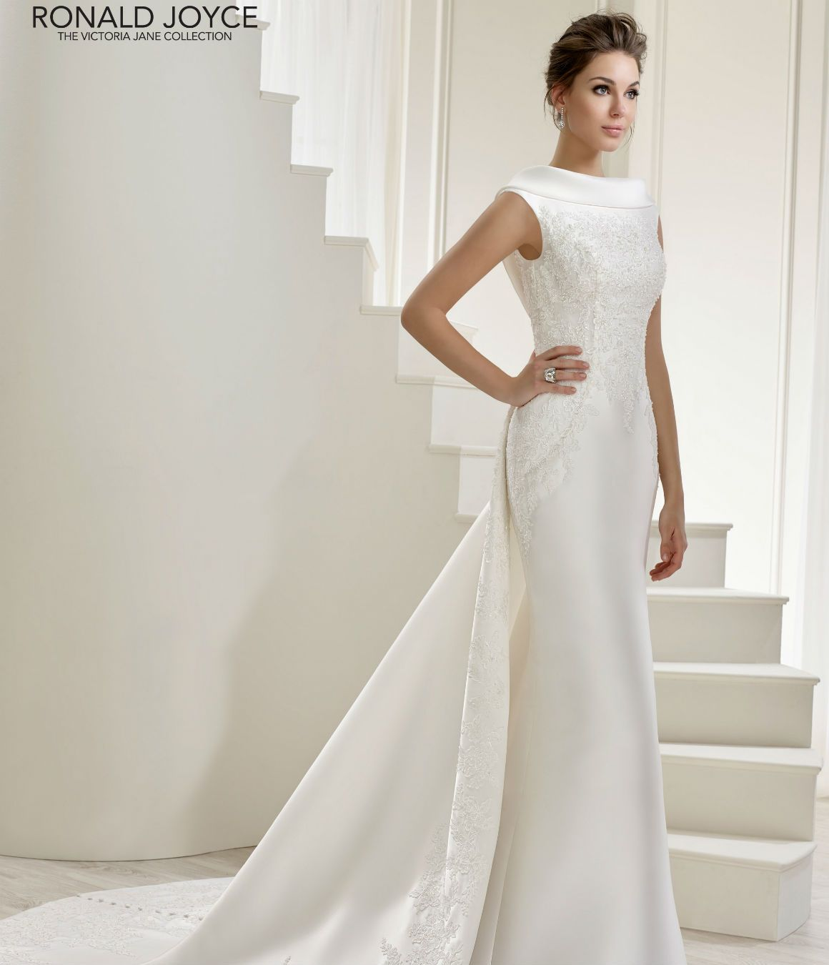 Style available in white and ivory romantic wedding dresses