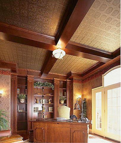 Tin Ceiling Tiles For The Keeping Room Wanted To Do