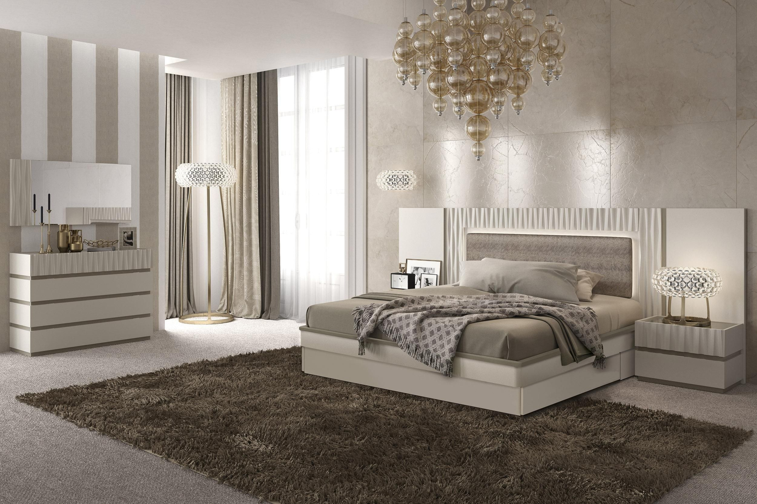 Exclusive Quality Modern Contemporary Bedroom Designs with Light