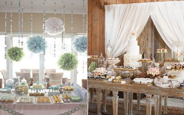 Sweet Table Via Pinterest Left And Wedding Of Blake Lively Ryan Reynolds Right Cake