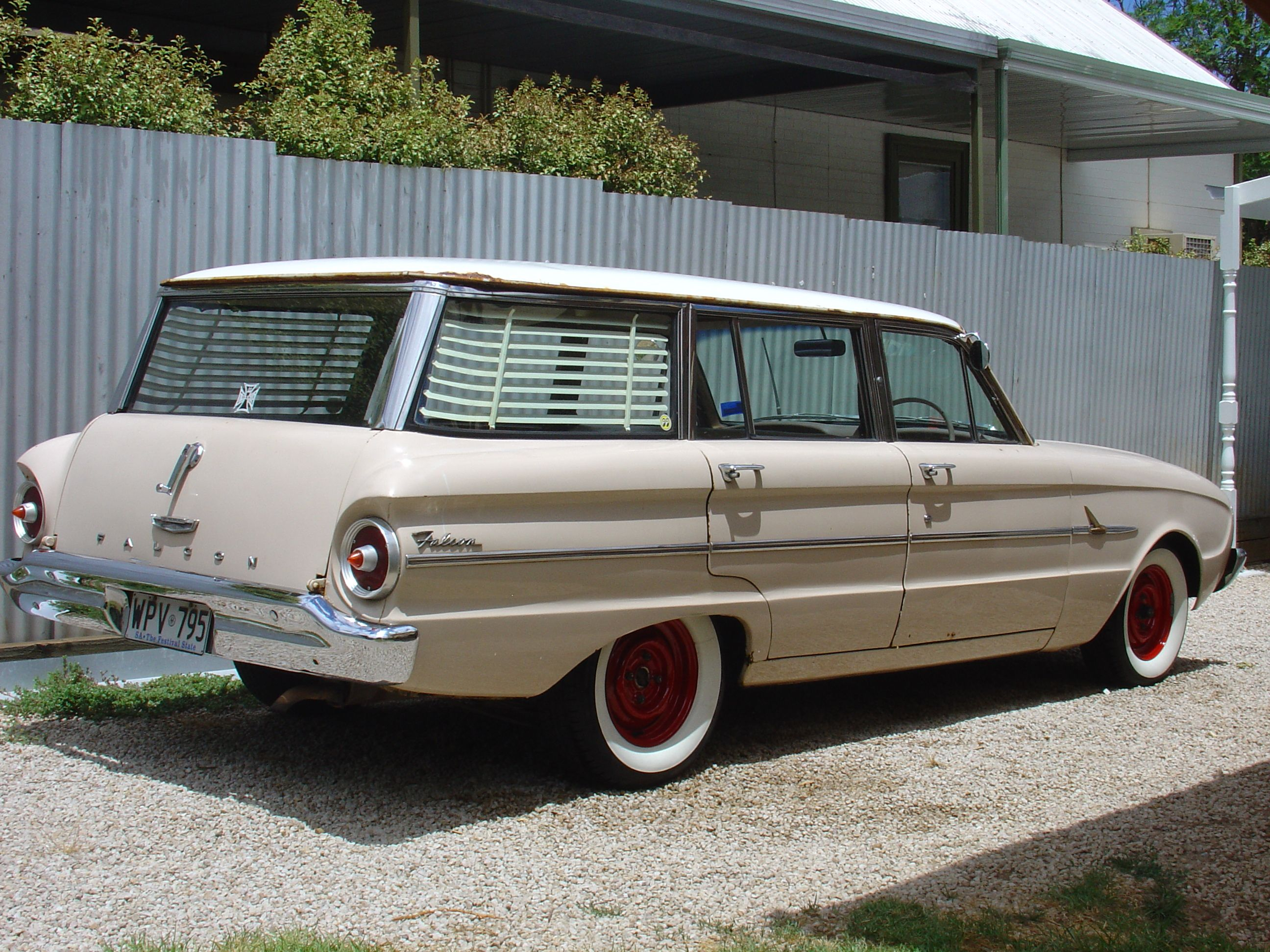 Australian 1963 Ford Falcon Wagon Ford Falcon Station Wagon