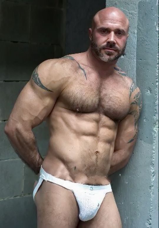 Bear beefy hairy