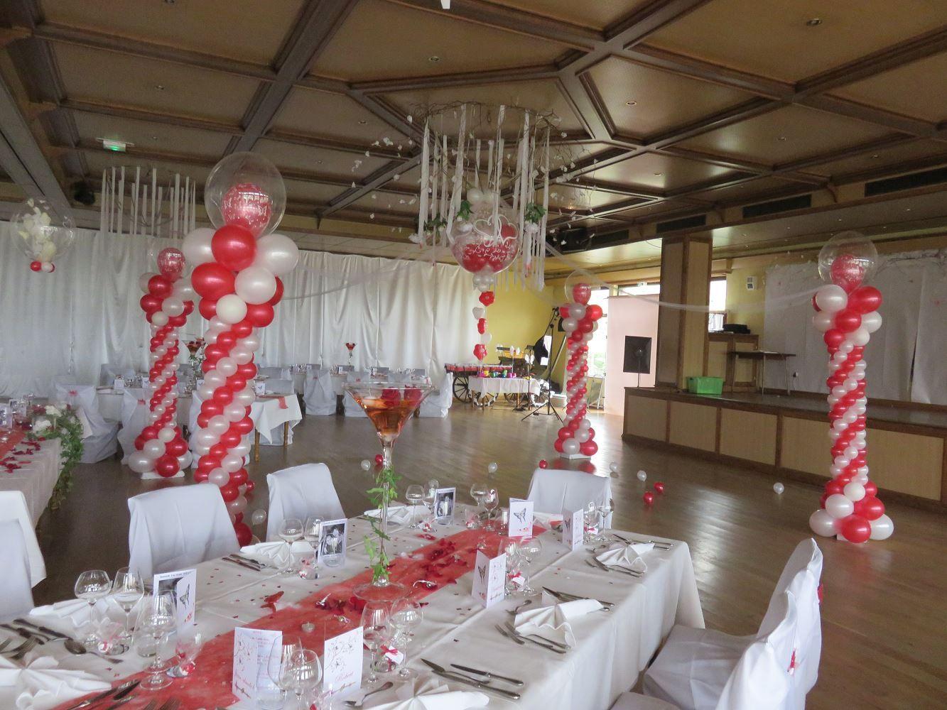 Deco ballon tout sur montage arrangement de ballon pinterest arrangements de ballon - Decoration mariage ballon ...