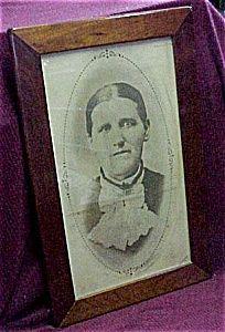 Solid Oak Frame, Grandma's Photo