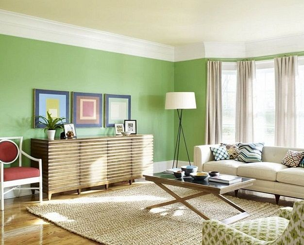 Apply Best Painting Ideas For Living Room Green Color Home Ideas