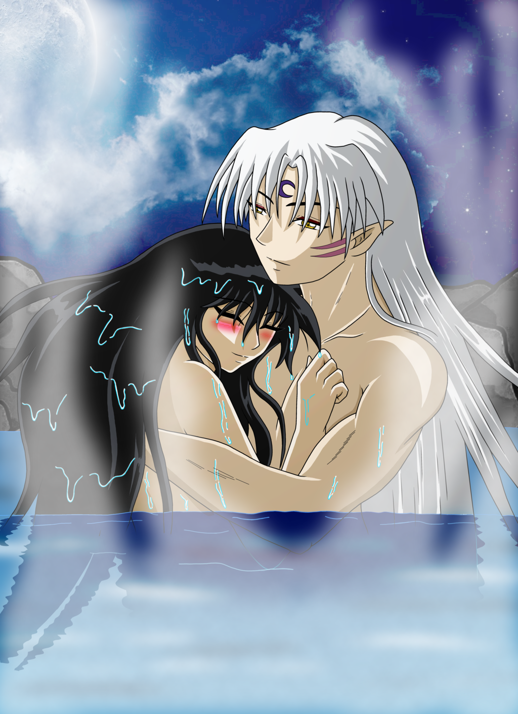 Hentai Inuyasha With Inuyasha Has Just Creampied Kagome And Wants Everyone To See That