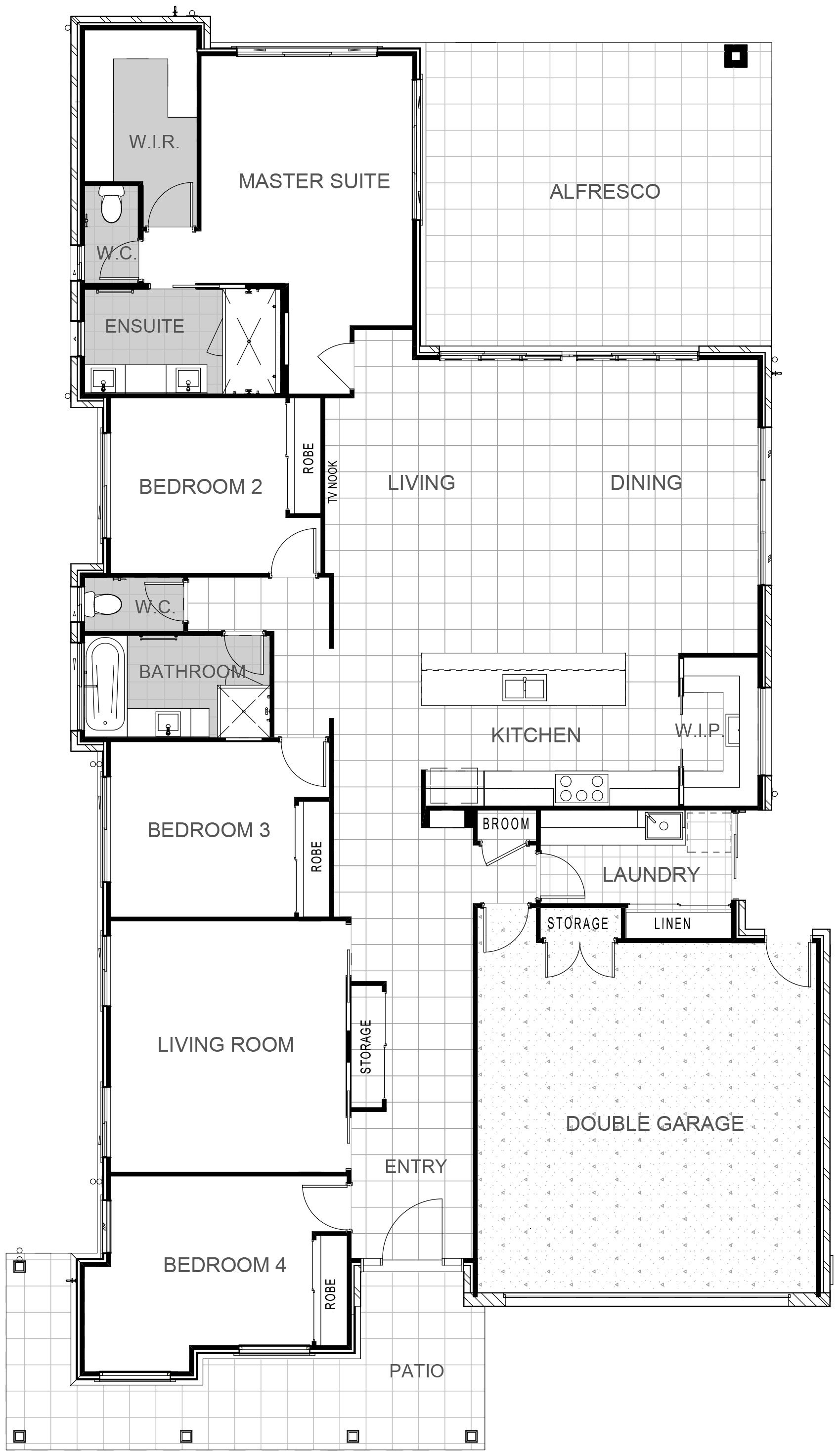 Brooklyn 283 Floor Plan