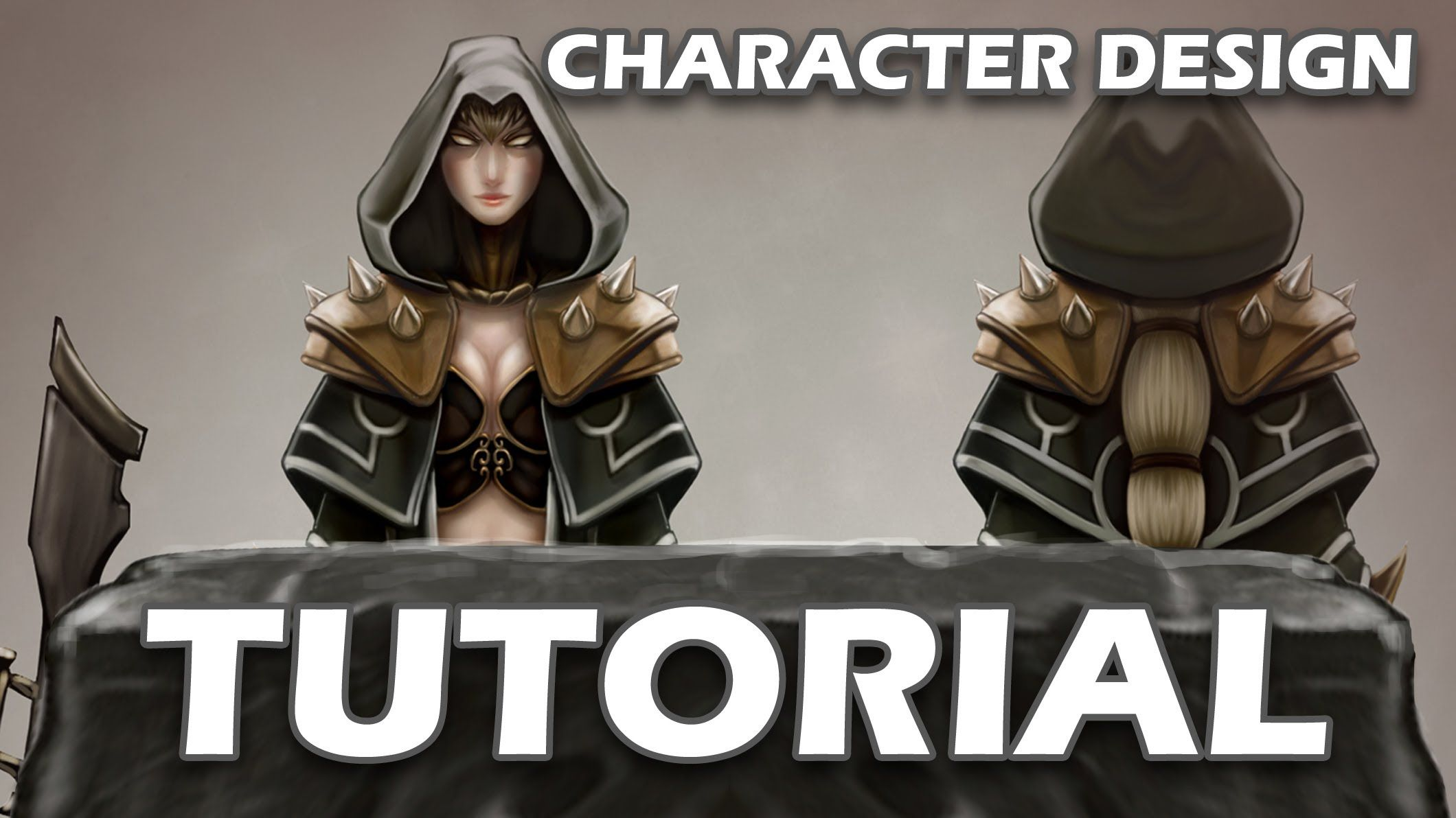 Game Character Design Tips : A tutorial on my method of creating character designs for games. the
