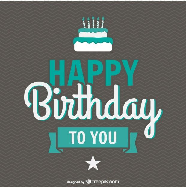 Birthday Turquoise Lettering In 2020 Happy Birthday To You Happy Birthday Messages Happy Birthday Greetings