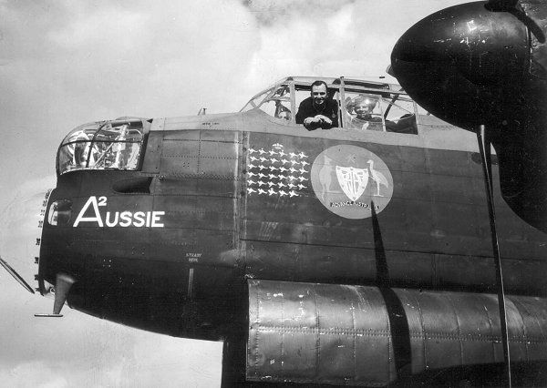 460 Squadron RAAF - Operations - Planes - Lancaster Nose Art