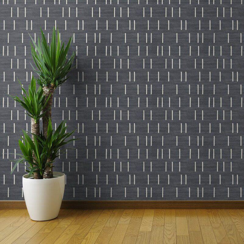 Iveta Farmhouse Removable Peel And Stick Wallpaper Roll Joss Main Peel And Stick Wallpaper Paintable Wallpaper Wallpaper Roll