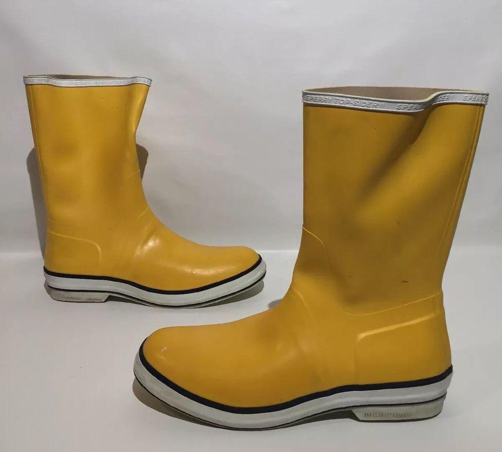 Sperry Top Sider Mid Calf Rain Boot