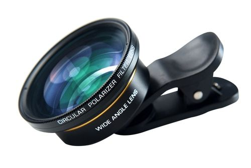 Super Wide Angle & Macro Lens With Filter For Smartphone