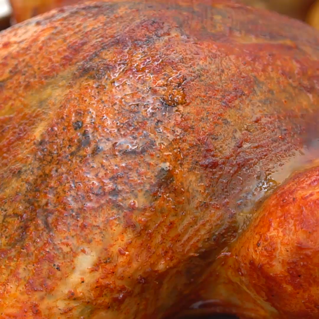 HOW TO DRY BRINE AND ROAST A TURKEY