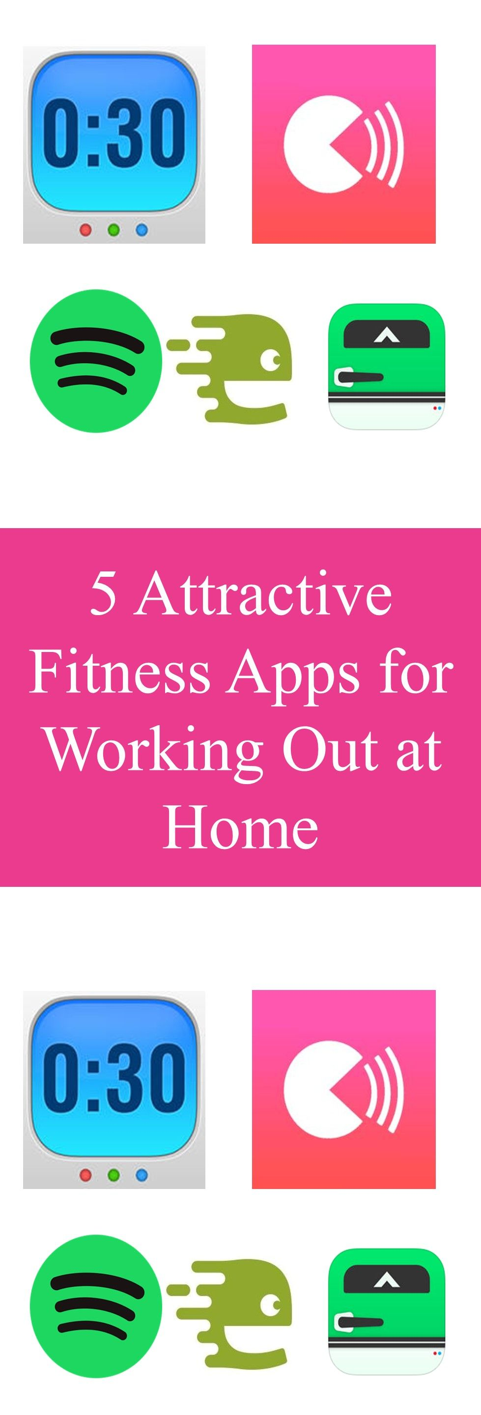 5 Attractive Fitness Apps for Working Out at Home Fun