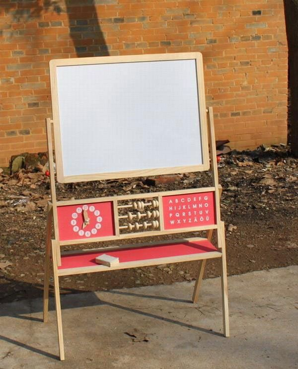 Large Double Sided Multi Functional Magnetic Drawing Board