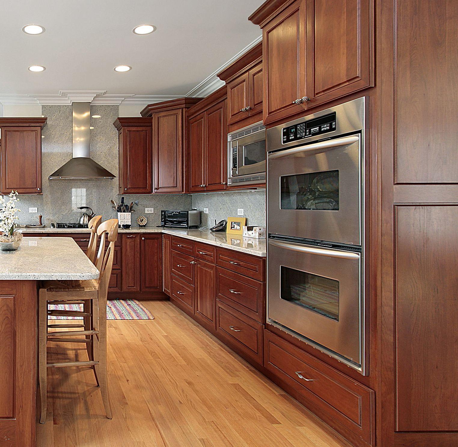 Prasada Kitchens And Fine Cabinetry: Classic Raised Panel Cherry Kitchen. Www.prasadakitchens