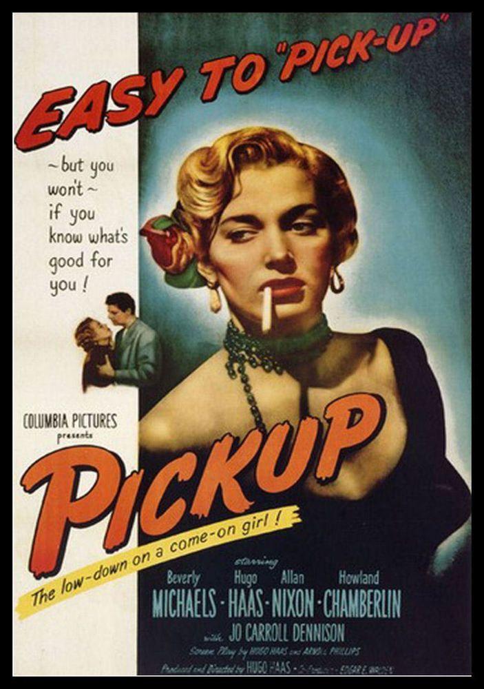 Pickup Fridge Magnet 6x8 Vintage Movie Poster Magnetic Canvas Print Classic Films Posters Movie Posters Old Movie Posters