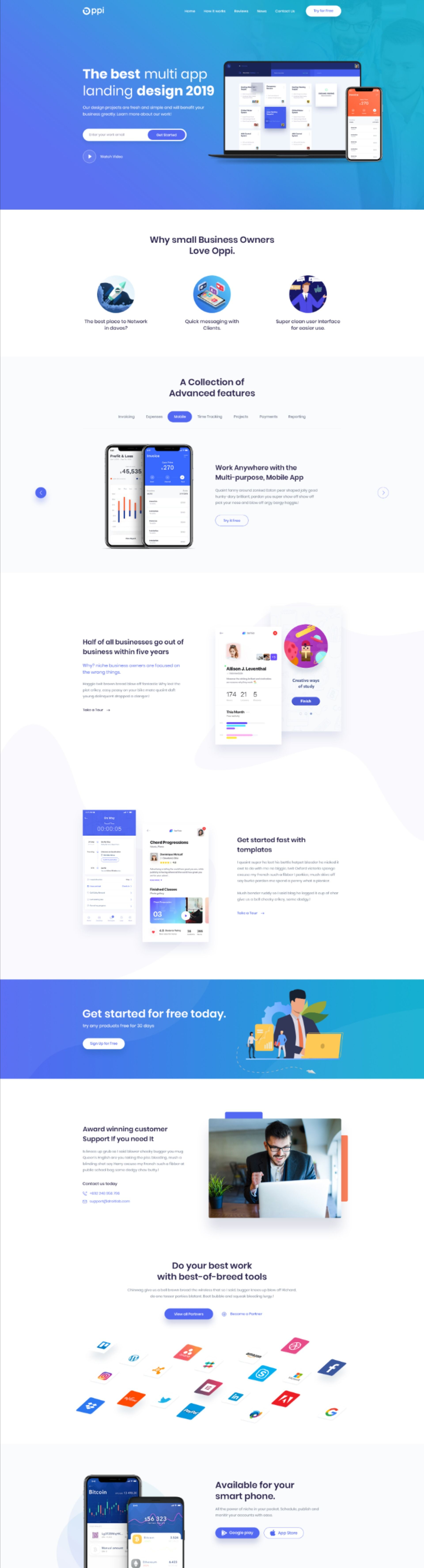 Pin On App Page Design