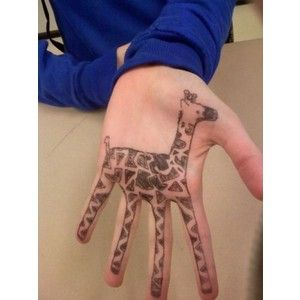 DRAW THIS ON PEOPLE'S HANDS BEFORE CERTAMEN! Giraffes are epic buzzers. *nods wisely*