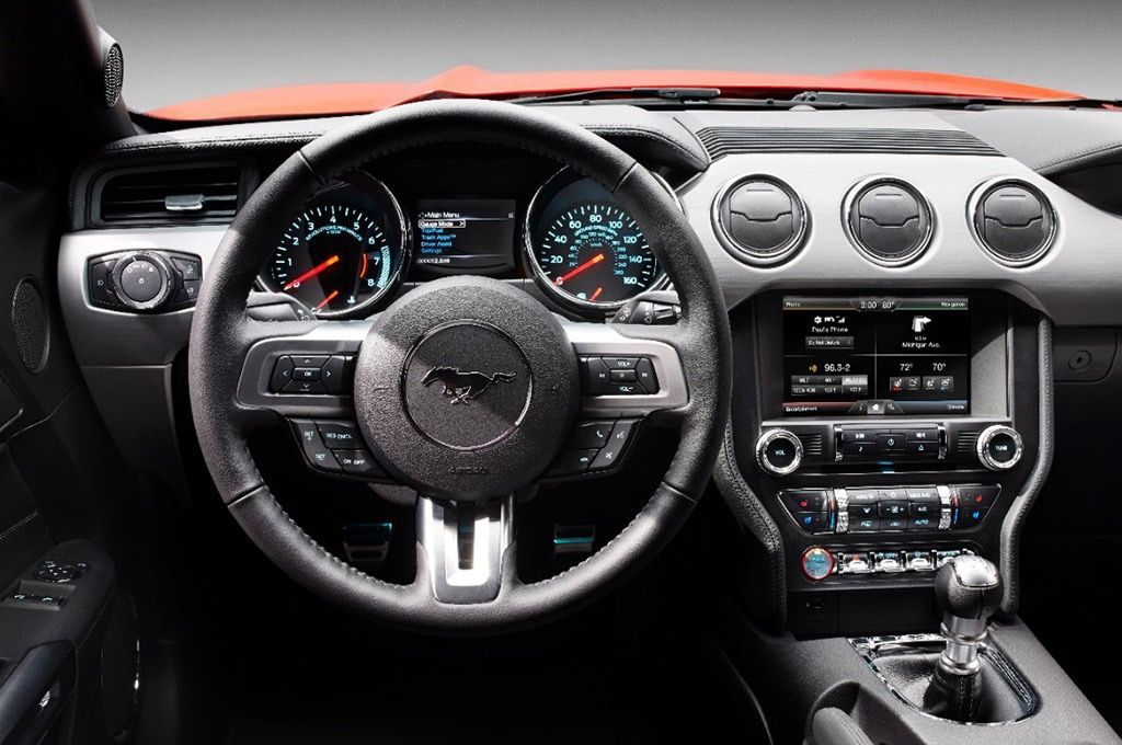 2015 Mustang Gt Premium Fastback Gears Mustang Interior 2015