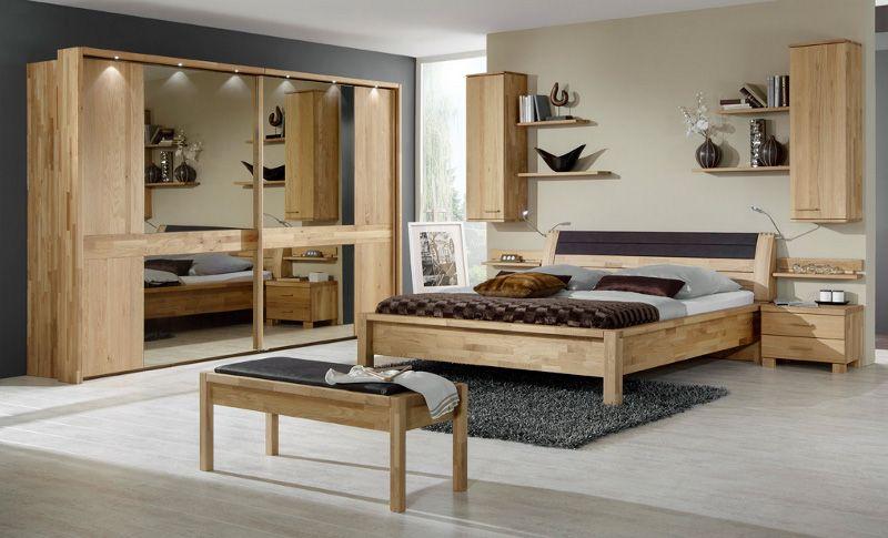 Schön schlafzimmer komplett eiche massiv | Deutsche Deko | Pinterest ...