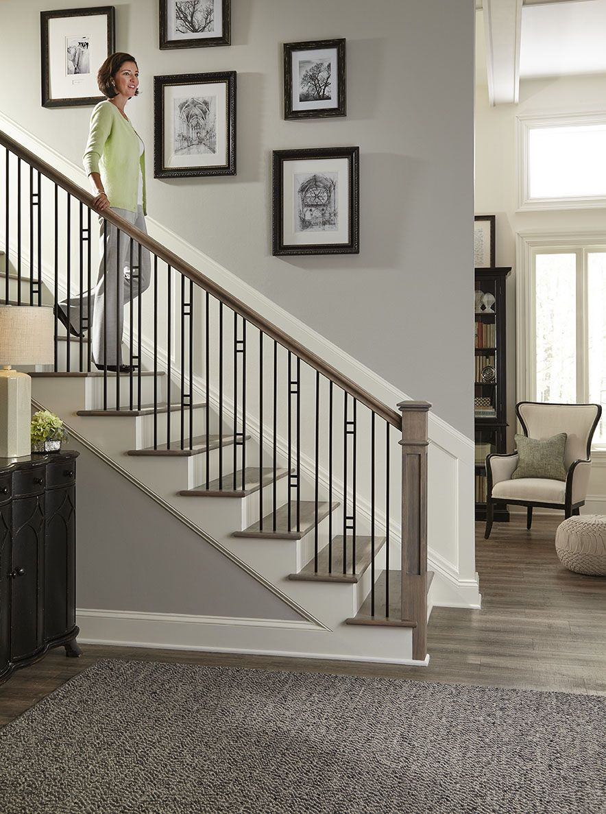 Best Pin By Crown Heritage Stairs On Iron Balusters Stairs 400 x 300