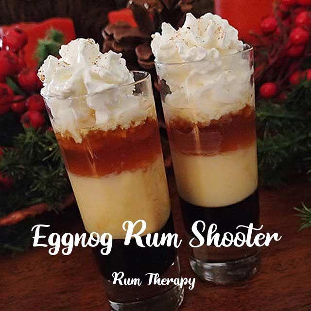 Rum 'N Eggnog Shooter