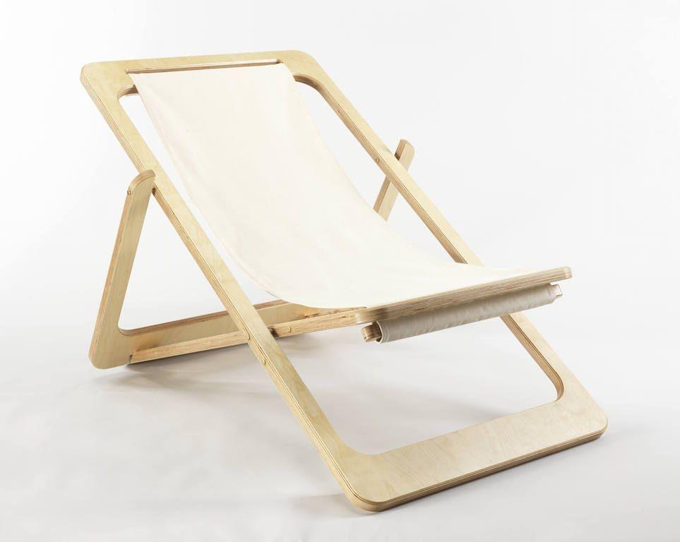 Sedie A Sdraio Per Interni.Una Sedia A Sdraio Di Design Per Interni Ed Esterni Banquinho De