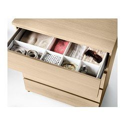 Malm Commode 4 Tiroirs Plaque Chene Blanchi Ikea My Stuff